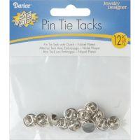 Brass Tie Tacks W/Clutch 12/Pkg NOTM013176