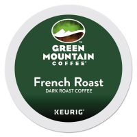 Green Mountain Coffee French Roast Coffee K-Cups, 24/Box GMT6694