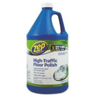 Zep Commercial High Traffic Floor Polish, 1 gal Bottle ZPEZUHTFF128EA