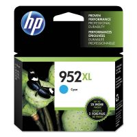 HP 952XL, (L0S61AN) High Yield Cyan Original Ink Cartridge HEWL0S61AN