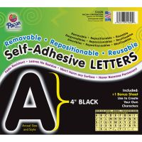 Pacon Reusable Self-Adhesive Letters PAC51620
