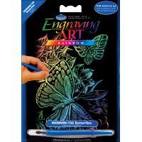 Mini Rainbow Foil Engraving Art Kit   NOTM305415