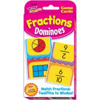 Trend Fractions Dominoes Challenge Cards Game TEP24009