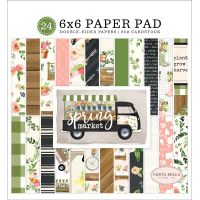 "Carta Bella Double-Sided Paper Pad 6""X6"" 24/Pkg NOTM335117"