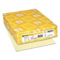 Neenah Paper CLASSIC Laid Writing Paper, 24lb, 8 1/2 x 11, Baronial Ivory, 500 Sheets NEE06551