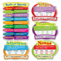 Carson-Dellosa Parts of Speech Bulletin Board Set CDP110126