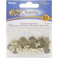Metal Charms 50/Pkg NOTM283263