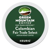 Green Mountain Coffee Colombian Fair Trade Select Coffee K-Cups, 24/Box GMT6003
