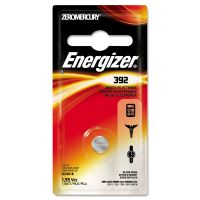 Energizer Watch/Electronic Battery, SilvOx, 392, 1.5V, MercFree EVE392BPZ