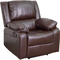Flash Furniture Harmony Series Brown Leather Recliner FHFBT705971BNGG