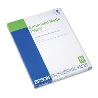 Epson Ultra Premium Matte Presentation Paper, 8-1/2 x 11, White, 50/Pack EPSS041341