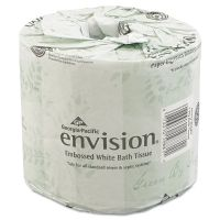 Georgia Pacific Professional Toilet Paper, 2-Ply, White, 4 1/20 x 4 Sheet, 550 Sheets/Roll, 80 Rolls/Carton GPC1988001