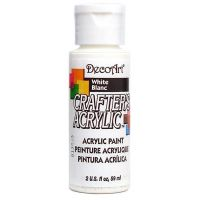 Deco Art Crafter's Acrylic White Acrylic Paint NOTM135474