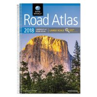 Rand McNally Large Scale Road Atlas, Spiral, 264 Pages, 2018 Edition AVTRM52801739X