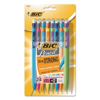 BIC Xtra-Strong Mechanical Pencil, 0.9mm, Assorted, 24/Pack BICMPLWP241