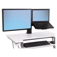 WorkFit by Ergotron WorkFit-T and WorkFit-PD Conversion Kit, LCD & Laptop Kit, Black ERG97907