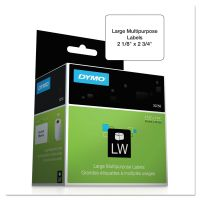 DYMO LabelWriter Diskette Labels, 2 1/8 x 2 3/4, White, 400 Labels/Roll DYM30258