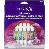 Reeves Oil Paints 10ml 18/Pkg NOTM135240