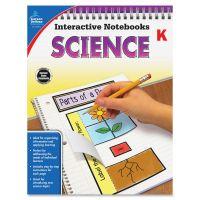 Carson-Dellosa Grade K Science Interactive Notebook Interactive Education Printed Book for Science CDP104904
