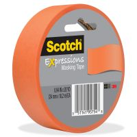 Scotch Expressions Colored Masking Tape MMM3437ORG