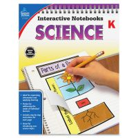 Carson-Dellosa Grade K Science Interactive Notebook Interactive Education Printed Book for Science CDP104904