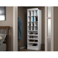 "Bestar Versatile by Bestar 25"" Cubby Storage unit in White BESBES4016417"