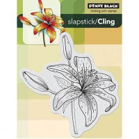 "Penny Black Cling Rubber Stamp 4""X6"" Sheet NOTM049266"
