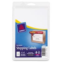 Avery Full-Sheet Labels with TrueBlock Technology, Inkjet/Laser, 4 x 6, White, 20/Pack AVE5292