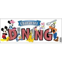 Disney Title Dimensional Stickers NOTM489796