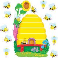 Busy Bees Job Chart Plus Bulletin Board Set TEPT8077