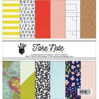 """Fancy Pants Designs Single-Sided Paper Pad 6""""X6"""" 36/Pkg NOTM108982"""