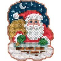 Down The Chimney Counted Cross Stitch Kit NOTM052686