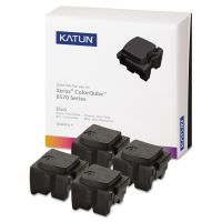 Katun 39403 Compatible 108R00930 High-Yield Solid Ink Stick, Black, 4/BX KAT39403
