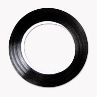"COSCO Art Tape, Black Gloss, 1/4"" x 324"" COS098075"