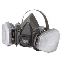 3M Half Facepiece Paint Spray/Pesticide Respirator, Small MMM6111PA1A