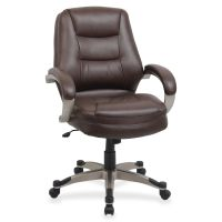 Lorell Westlake Series Mid Back Management Office Chair LLR63281