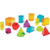 Learning Resources View Thru Geometric Solids Set LRNLER4331