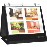 Lion Insta-Cover Round Ring Easel Binder LIO40009BK
