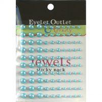 Bling Self-Adhesive Pearls Multi-Size 100/Pkg NOTM413108