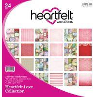 "Heartfelt Creations Double-Sided Paper Pad 12""X12"" 24/Pkg NOTM290971"
