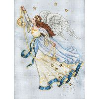Dimensions Gold Petite Twilight Angel Counted Cross Stitch Kit NOTM238228