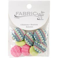 Fabricraft - Fabric Covered Buttons 8/Pkg NOTM091325