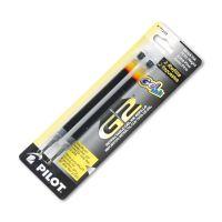 Pilot Q7, G2 Ltd, G2 Pro, Precise Gel BeGreen,, Extra Fine, Blk, 2/Pk PIL77232