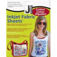 "Ink Jet Fabric Sheets 8.5""X11"" 10/Pkg NOTM120098"