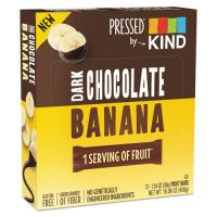 KIND Pressed by KIND Bars, Dark Chocolate Banana, 1.34 oz, 12/Pack KND25973