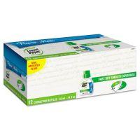 Paper Mate Liquid Paper Fast Dry Correction Fluid, 22 ml Bottle, White, 1/Dozen PAP5640115