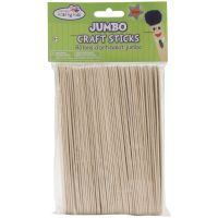 Krafty Kids Jumbo Craft Sticks NOTM491945