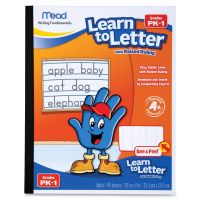 Mead Learn To Letter Writing Book Education Printed Book MEA48122