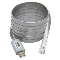 Tripp Lite USB to RJ45 Cisco Serial Rollover Cable, USB Type-A to RJ45 M/M, 6 ft. SYNX4317381