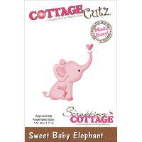 CottageCutz Mini Sweet Baby Elephant Die NOTM101609
